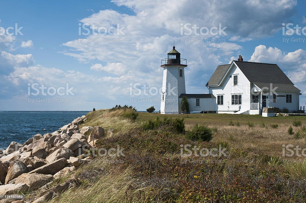 Coastal Beacon royalty-free stock photo