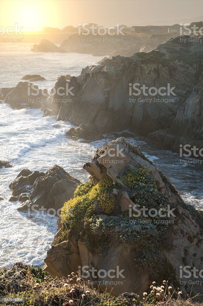 Coastal California stock photo