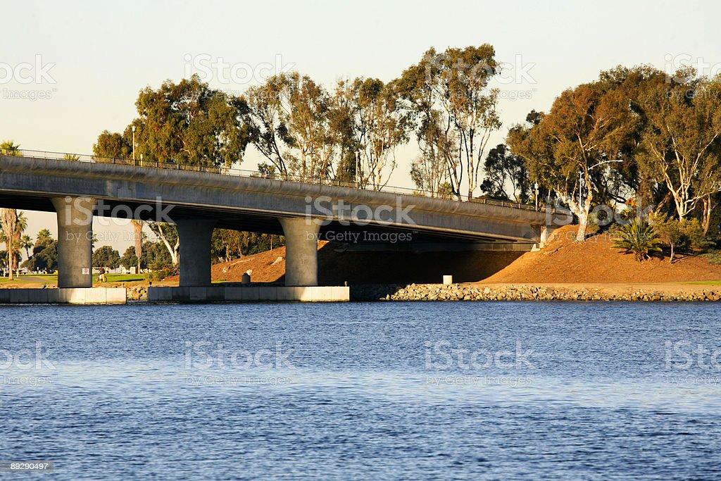 coastal california scene - bridge royalty-free stock photo
