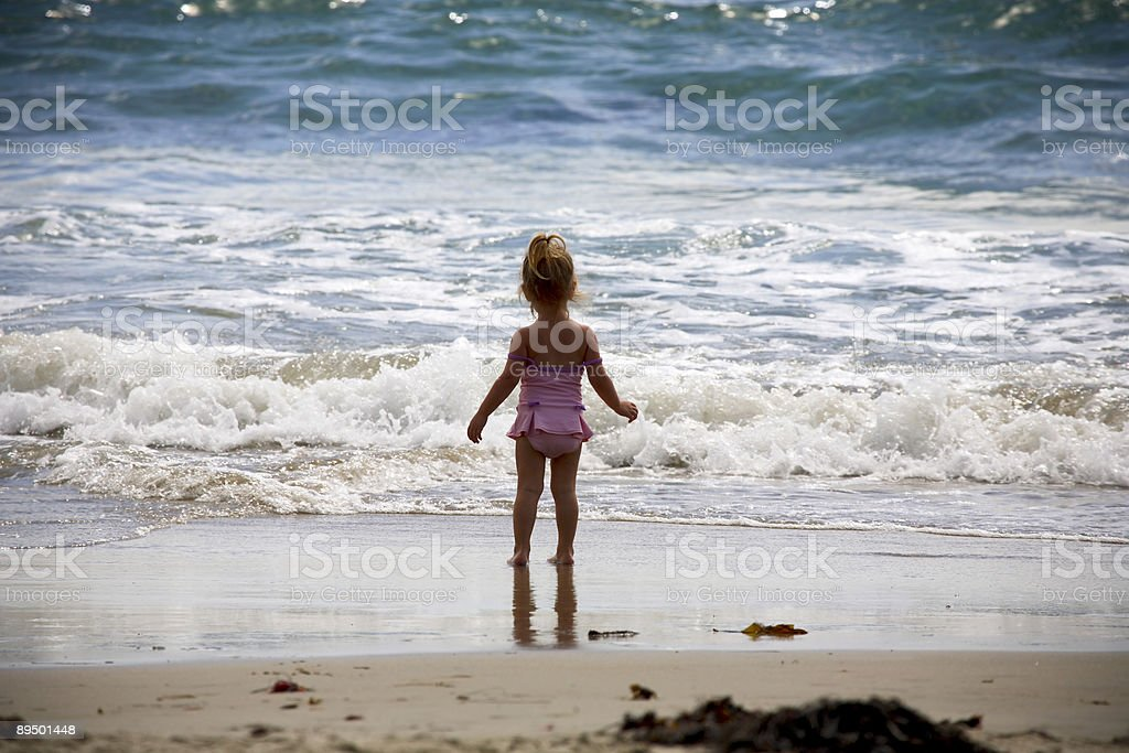 coastal california scene royalty-free stock photo