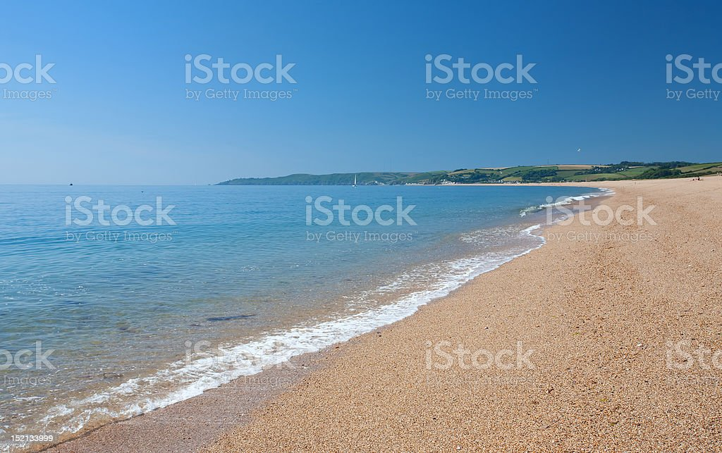 Coastal Devon stock photo