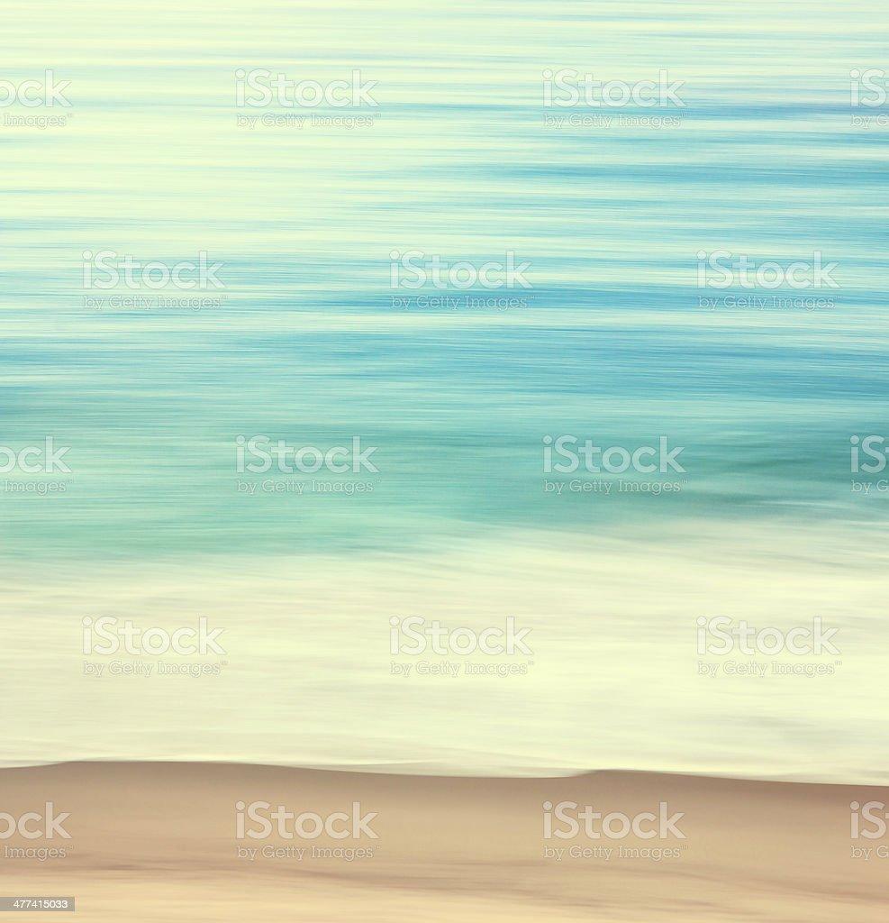 Coastal Edge Abstract stock photo