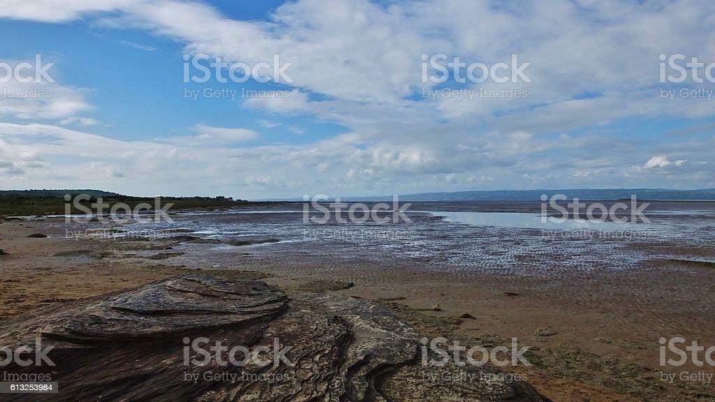 Coastal Landscape 185 stock photo