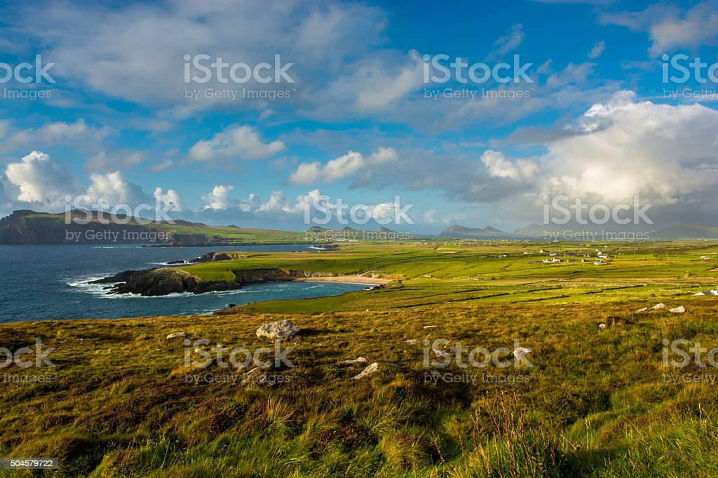 Coastal Landscape in Tipperary in Ireland stock photo