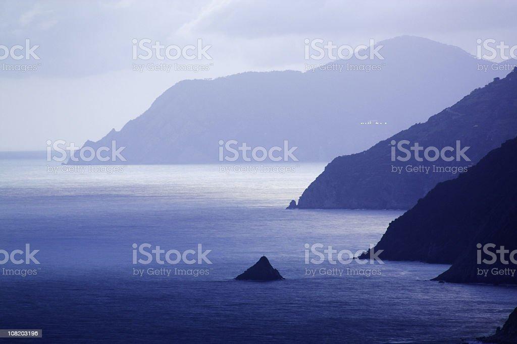 Coastal Landscape royalty-free stock photo