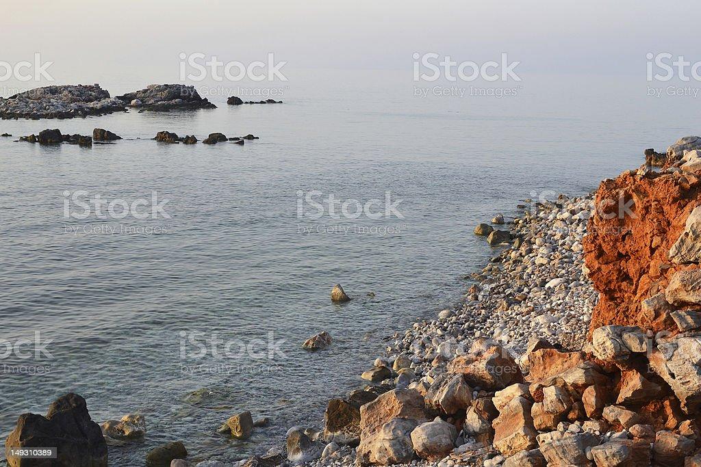 海岸沿いの風景 ロイヤリティフリーストックフォト