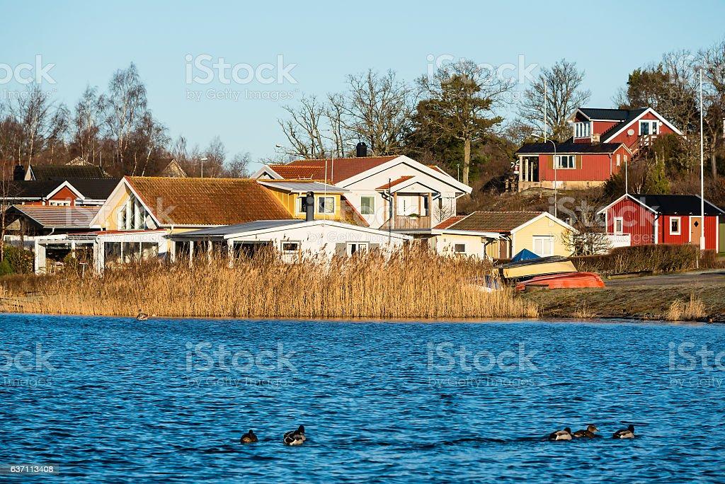Coastal lifestyle stock photo