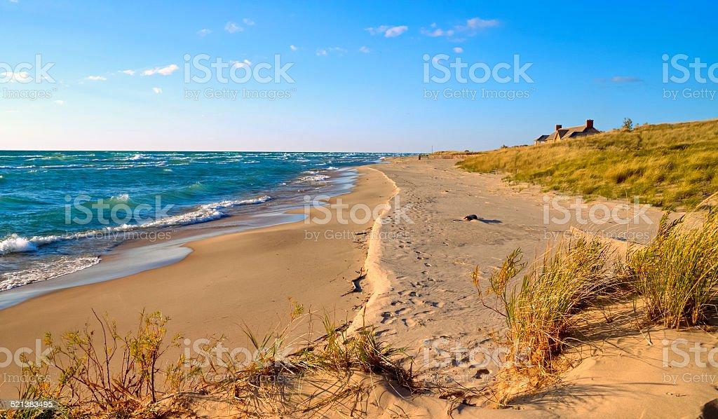 Coastal Living stock photo