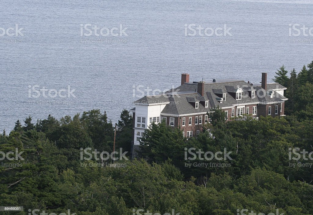 Coastal Mansion royalty-free stock photo