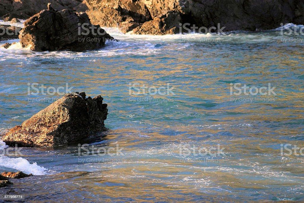 Coastal Ocean stock photo