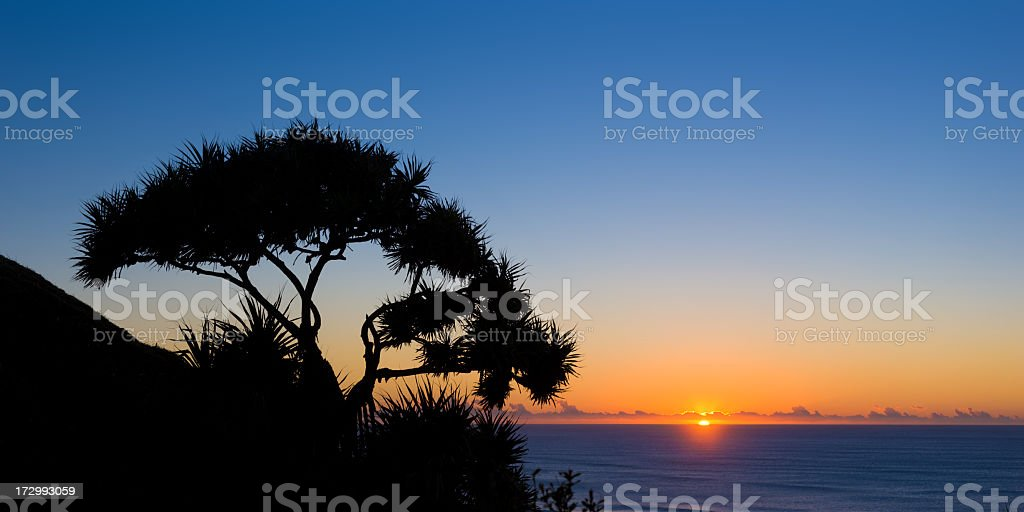 Coastal Panorama royalty-free stock photo