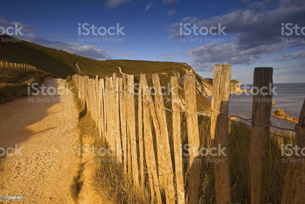 Coastal Path royalty-free stock photo