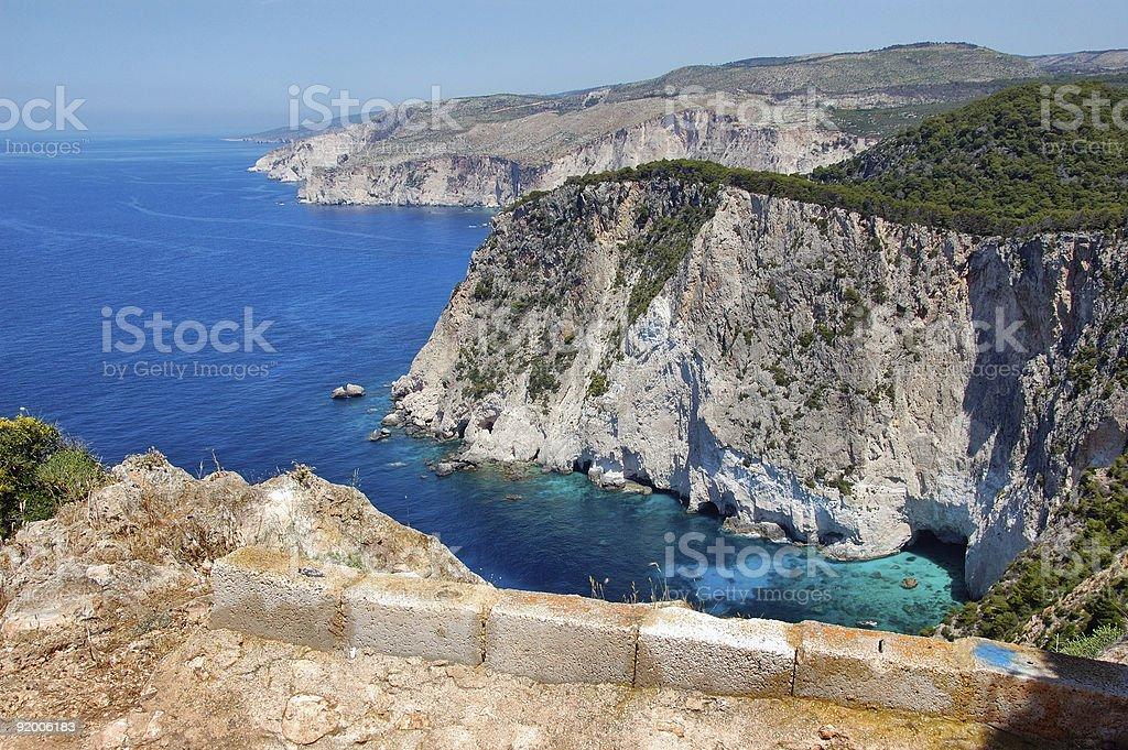 coastal ridges royalty-free stock photo