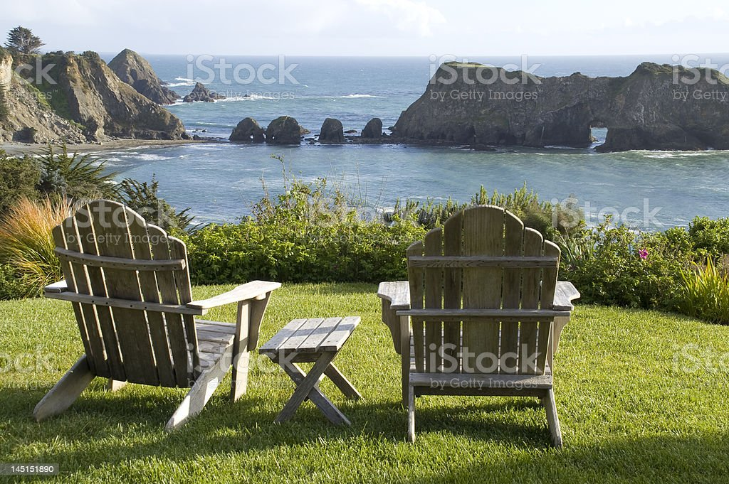 Coastal Scenic stock photo