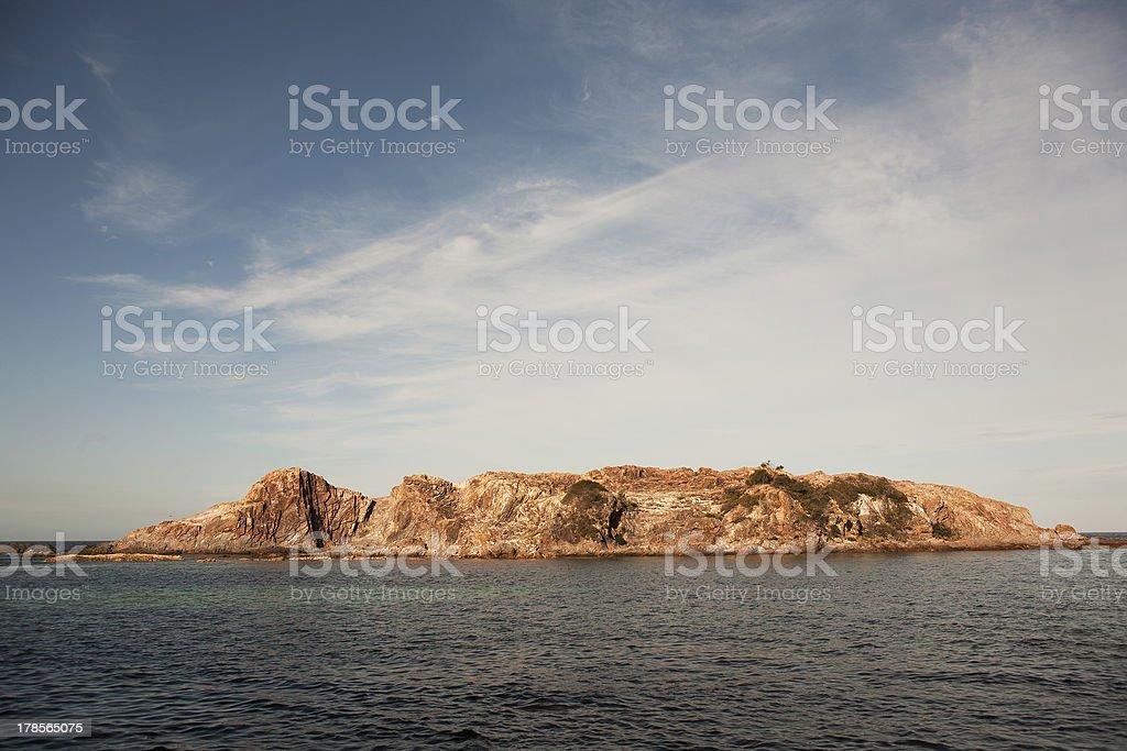 Coastal Scenic royalty-free stock photo