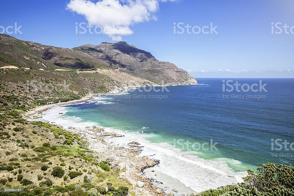 Coastal View Cape Town South Africa stock photo