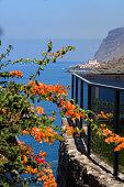 coastal view on Paul do Mar on Madeira