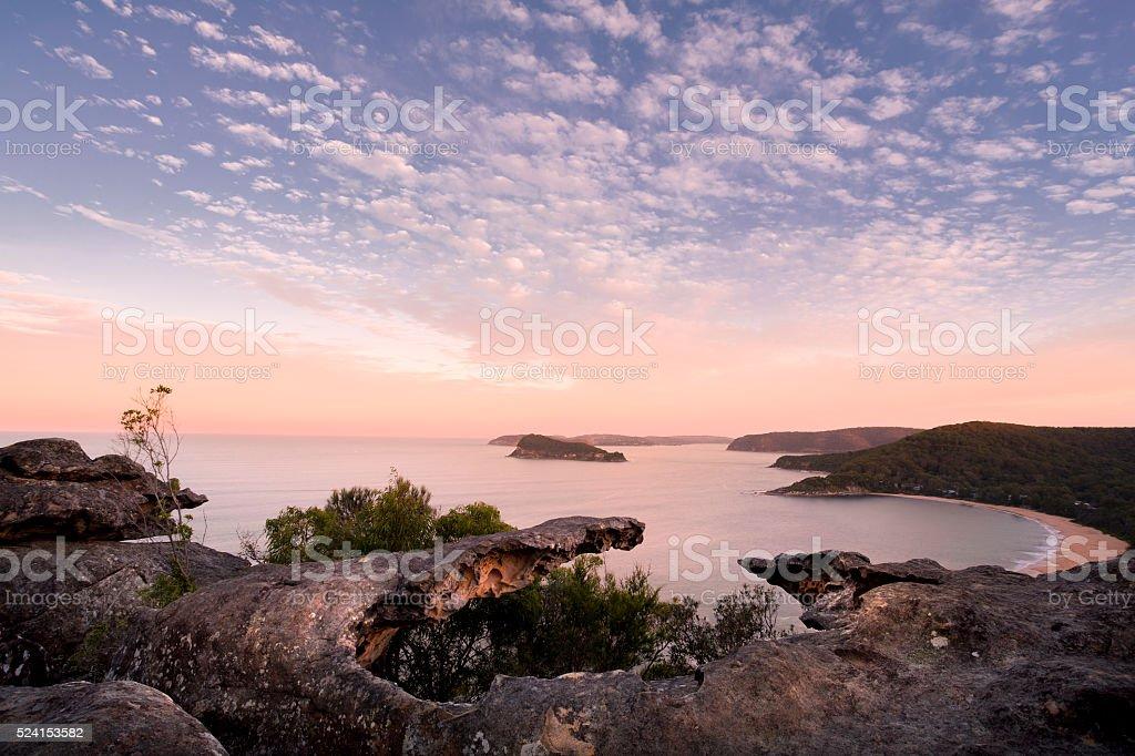 coastal views stock photo