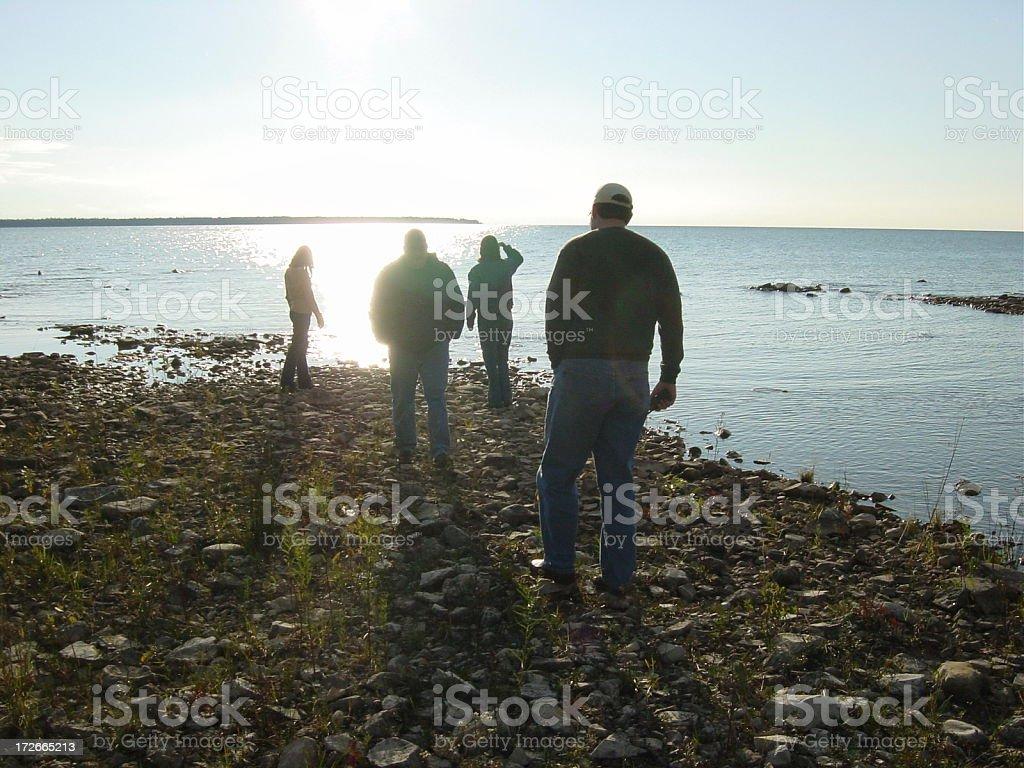 Coastal Walk royalty-free stock photo