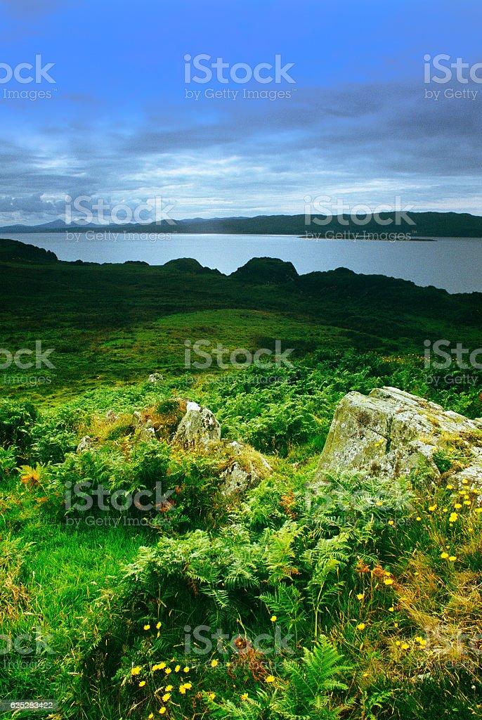 coastline argyll and bute scotland uk stock photo