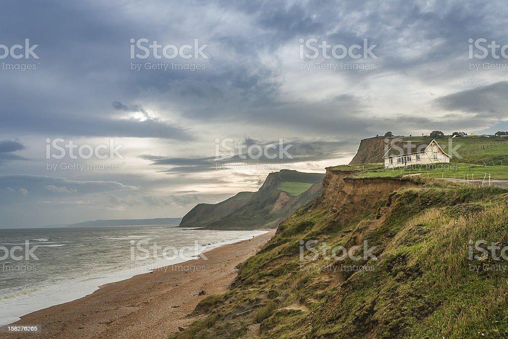 UK Coastline Dorset royalty-free stock photo