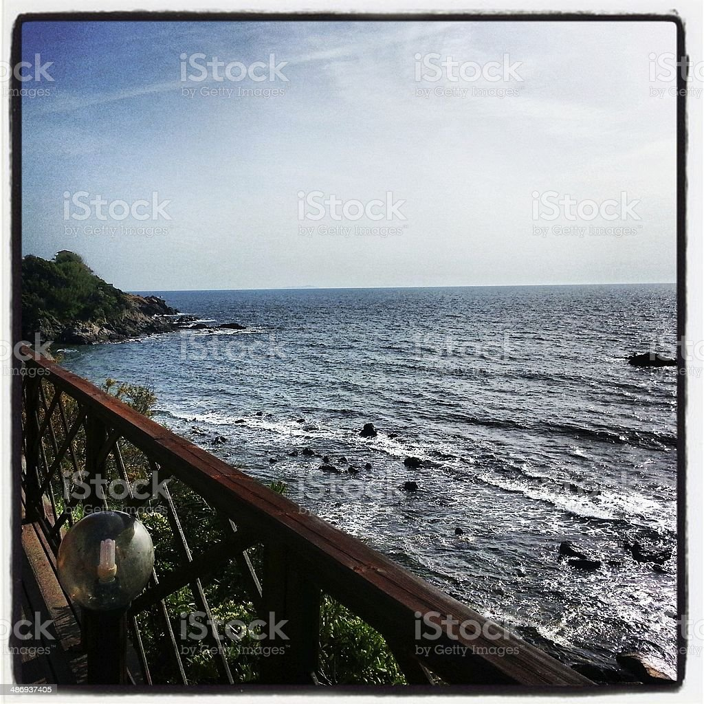 Coastline in Tuscany, Italy - MobileStock stock photo