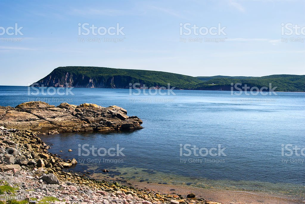 Coastline stock photo