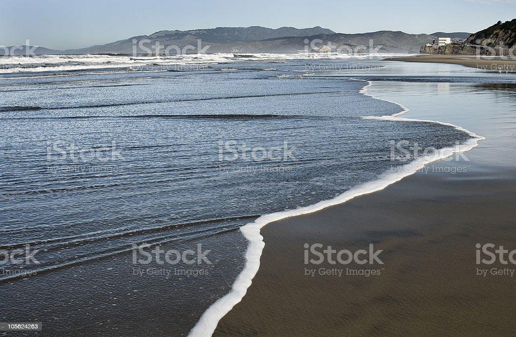 La costa de San Francisco foto de stock libre de derechos