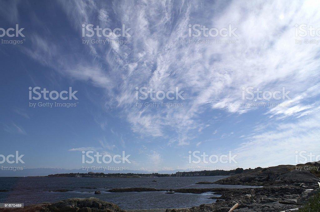 Coastline Scenery stock photo