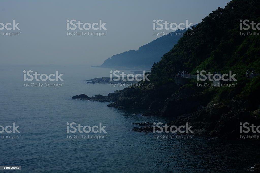 coastline, shoreline stock photo