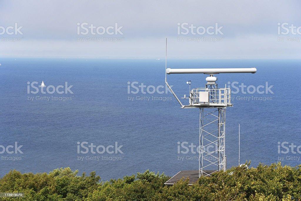 Coastline surveillance royalty-free stock photo