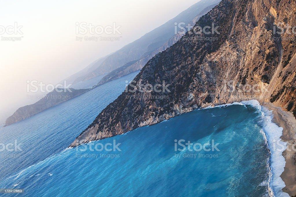 Coastline view royalty-free stock photo
