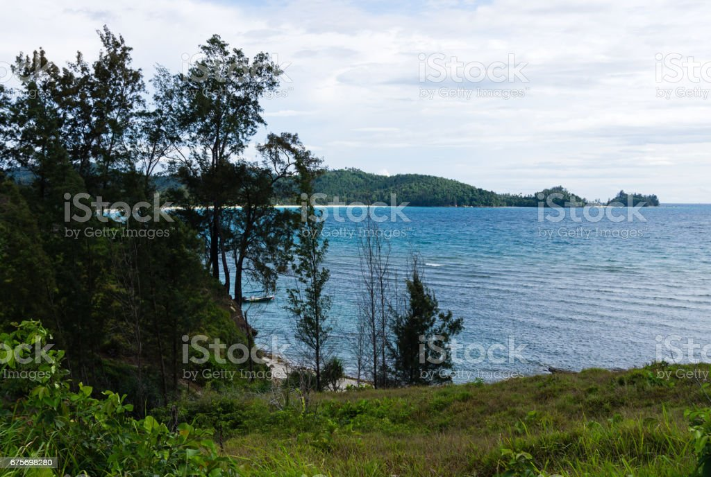 Coastline View stock photo