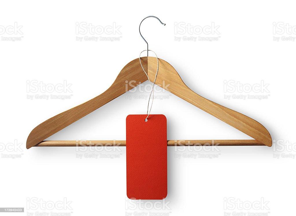 Coat hanger. stock photo