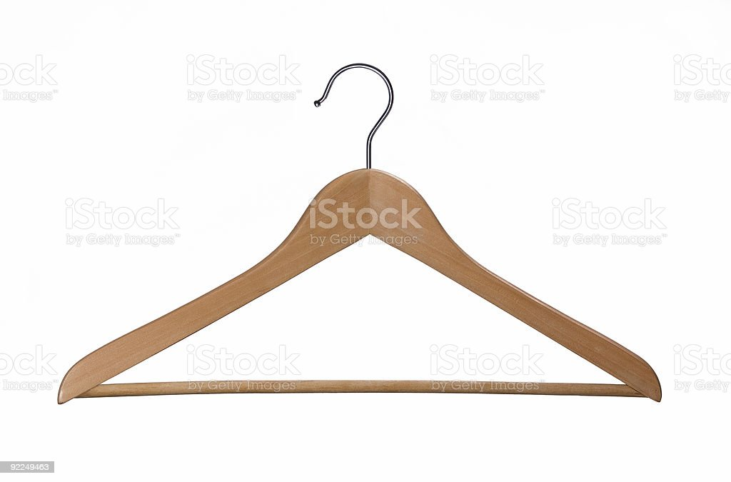 Coat Hanger royalty-free stock photo