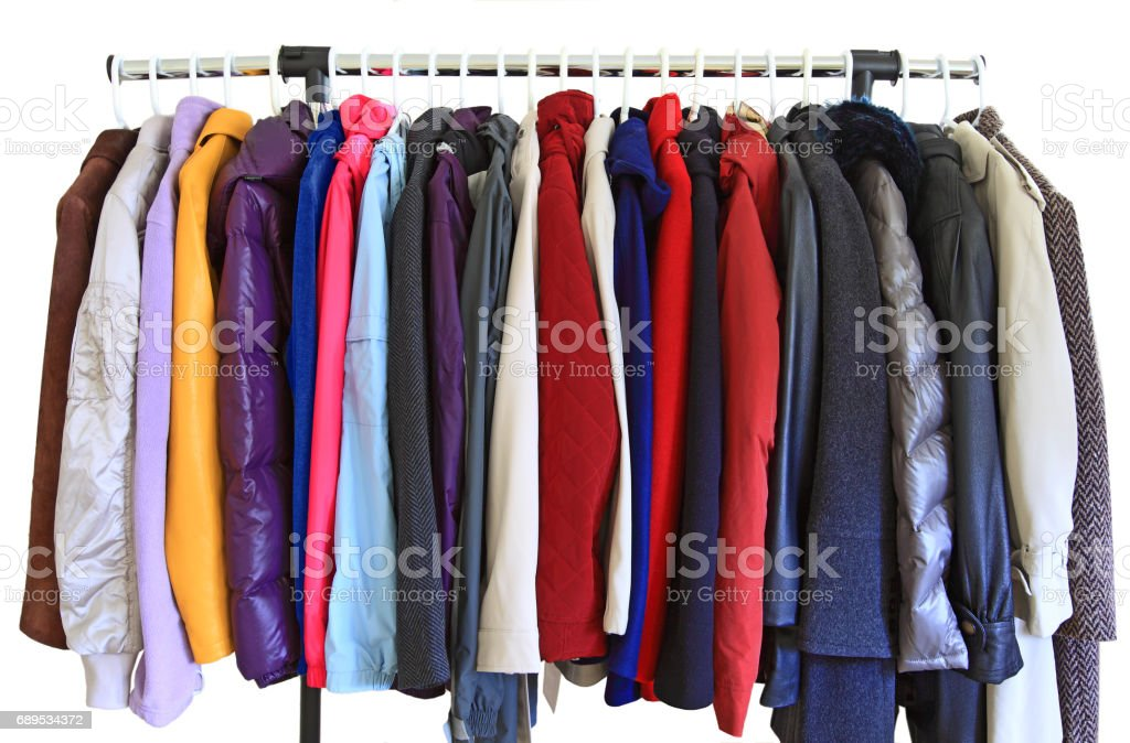 Coat Jacket stock photo
