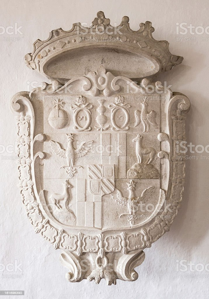 coat of arms royalty-free stock photo