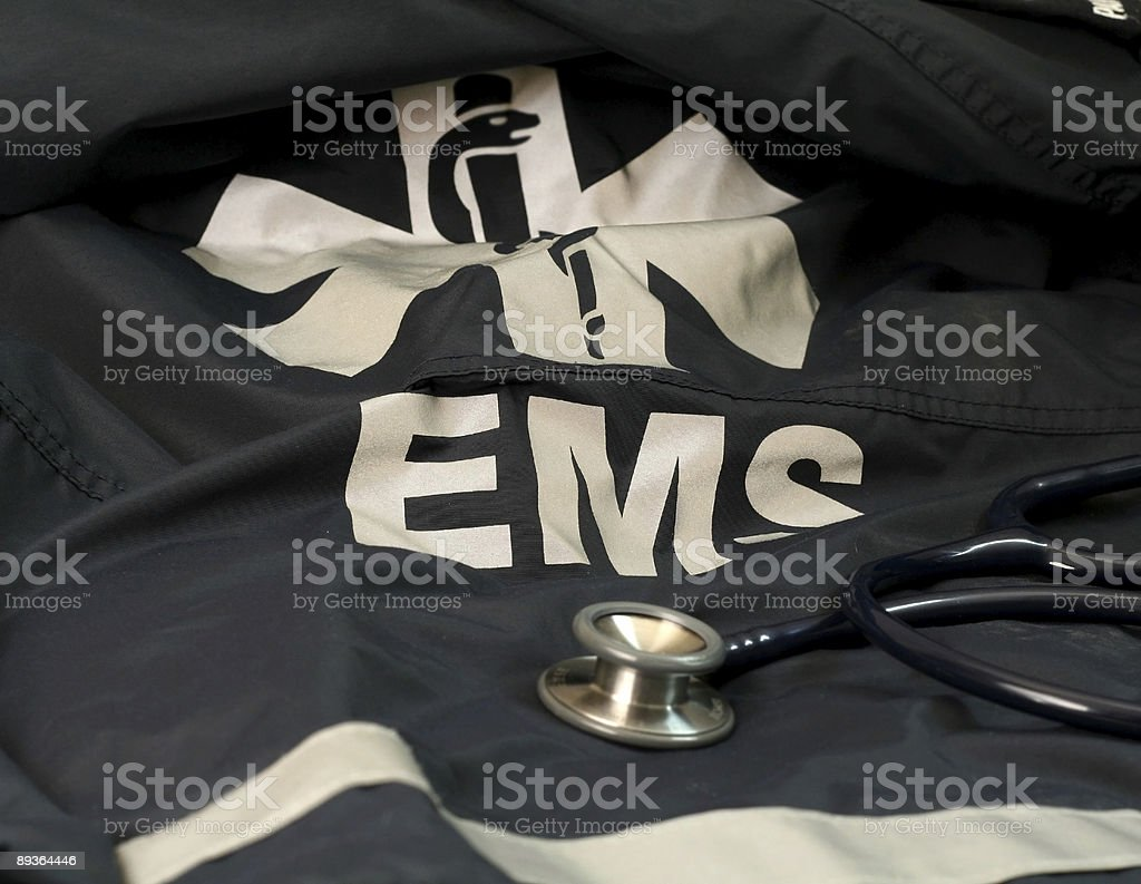 EMS Coat stock photo