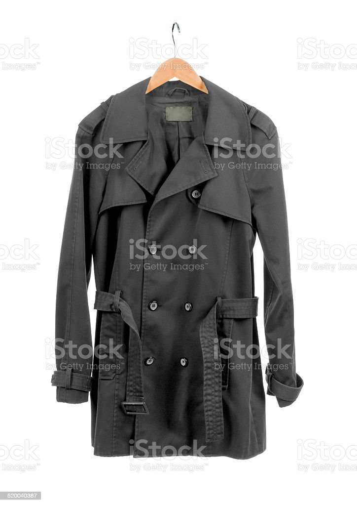 coats for men stock photo