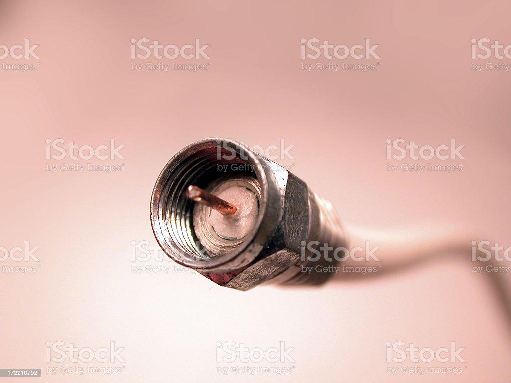Coax stock photo