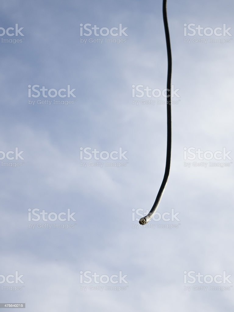 Coaxial connector royalty-free stock photo