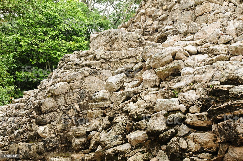 Coba, Mexico royalty-free stock photo