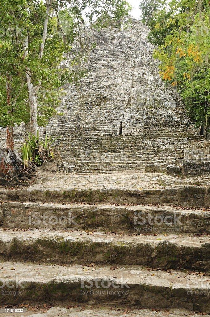 'Coba, Mexico.' stock photo