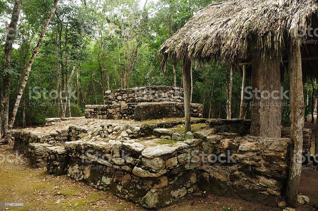 Coba, Mexico. royalty-free stock photo
