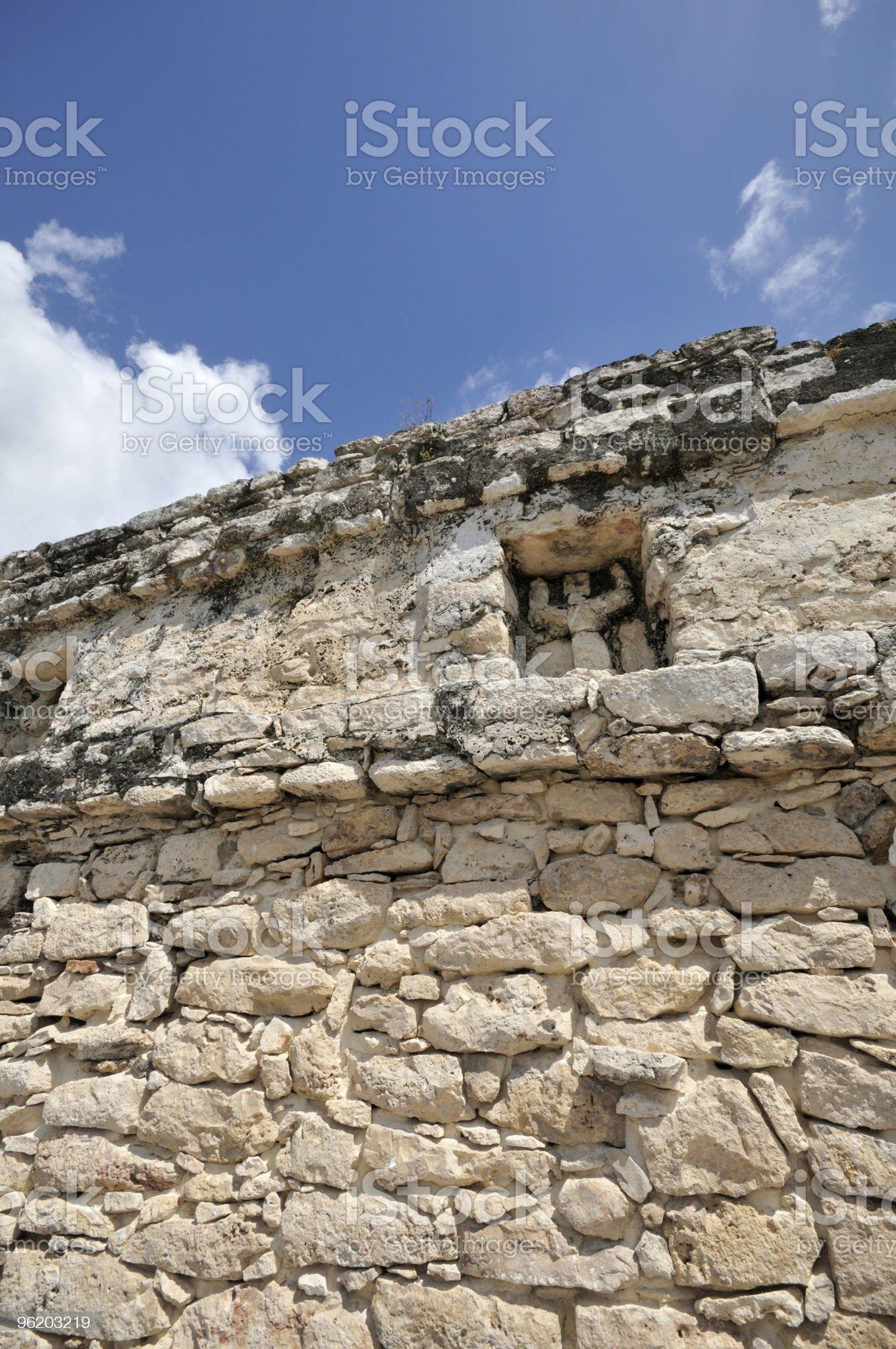 Coba Ruin royalty-free stock photo