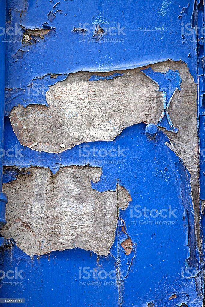 Cobalt Blue Grunge royalty-free stock photo