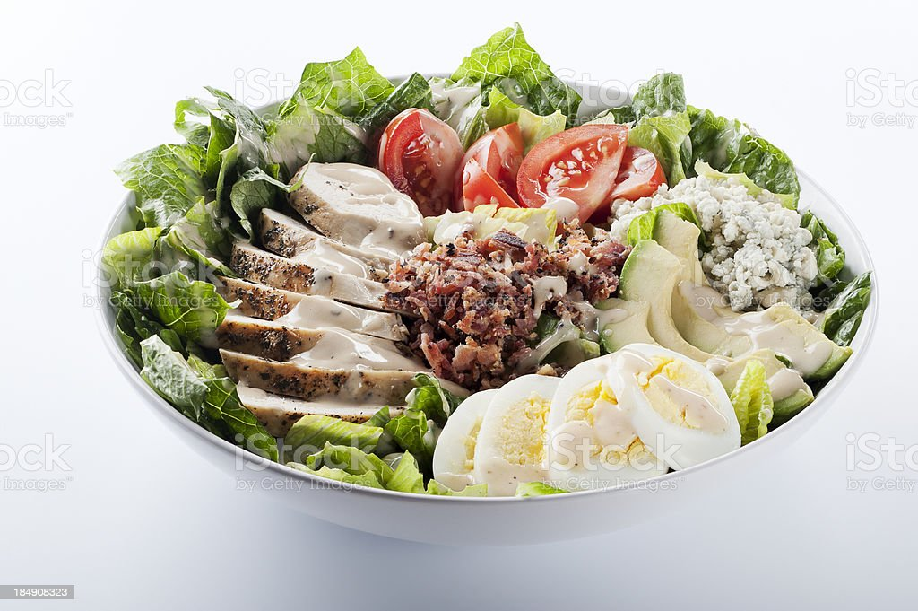 Cobb Salad royalty-free stock photo