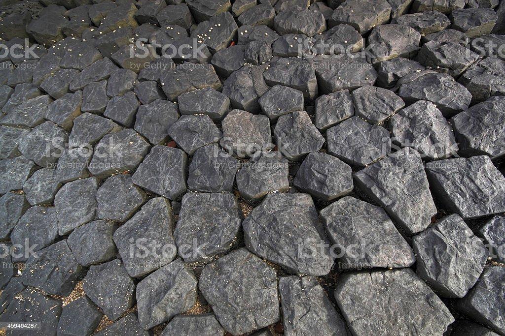 cobble stone stock photo