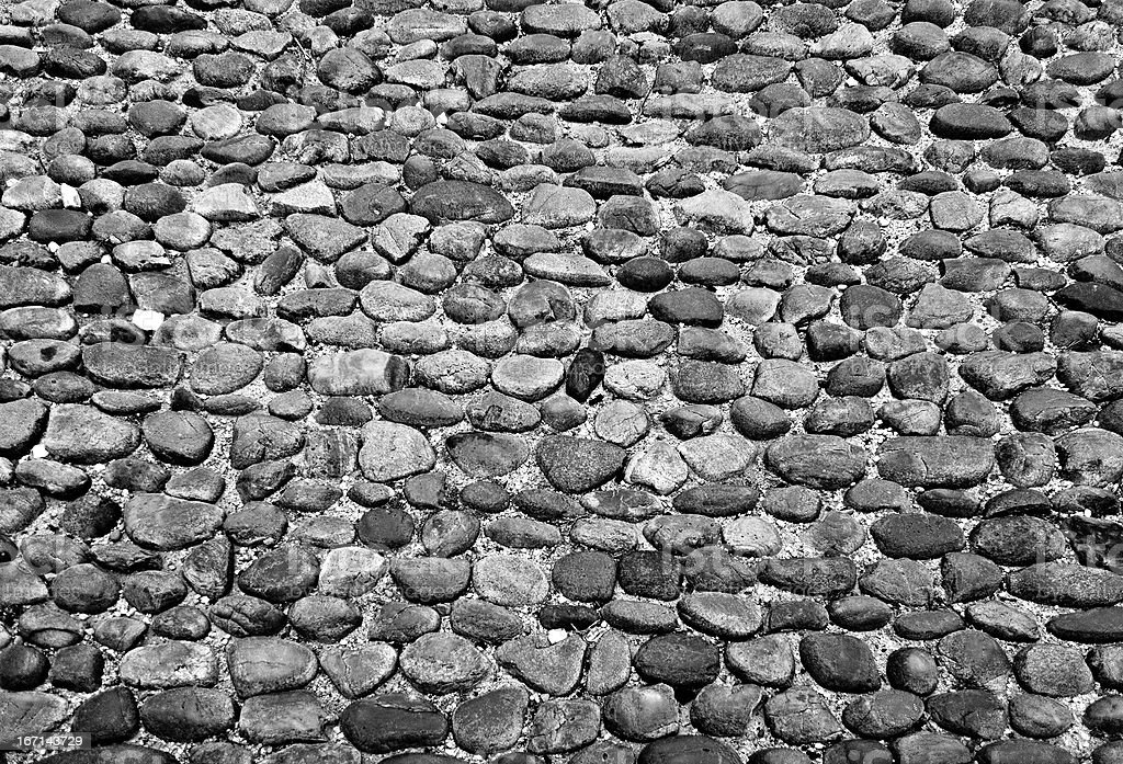 Cobble texture royalty-free stock photo