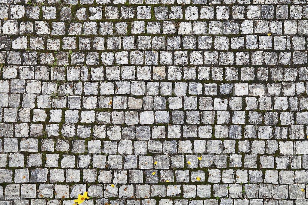 Cobblestone background pattern royalty-free stock photo